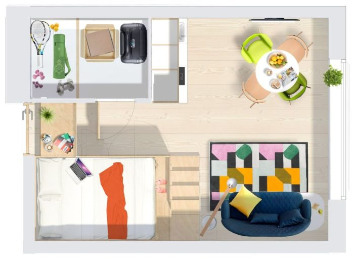 micro-appartement