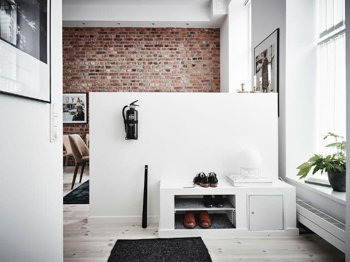 murs de briques et de la peinture blanche 15