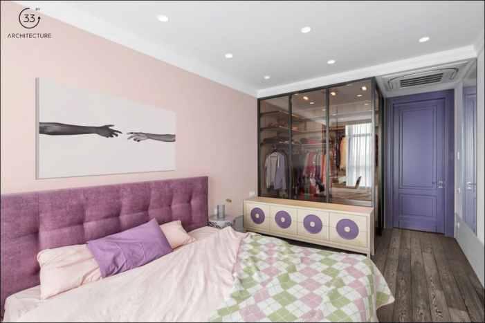Des chambres tout aussi colorées