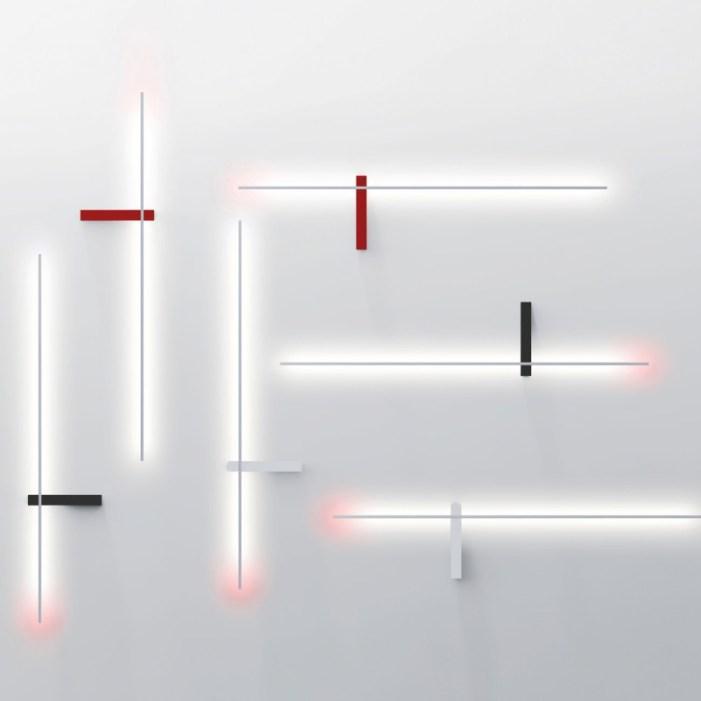 Outline applique très graphique signée Francesco Murano