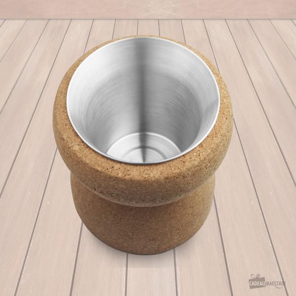Seau à glace design Bouchon