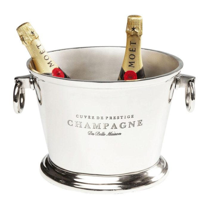 Seau à glace design le seau à champagne Du Belle by Kare Design