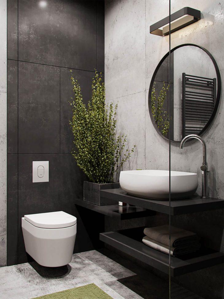 salles de bains de style industriel 12