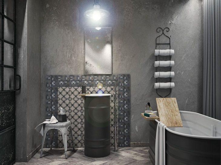 salles de bains de style industriel 31