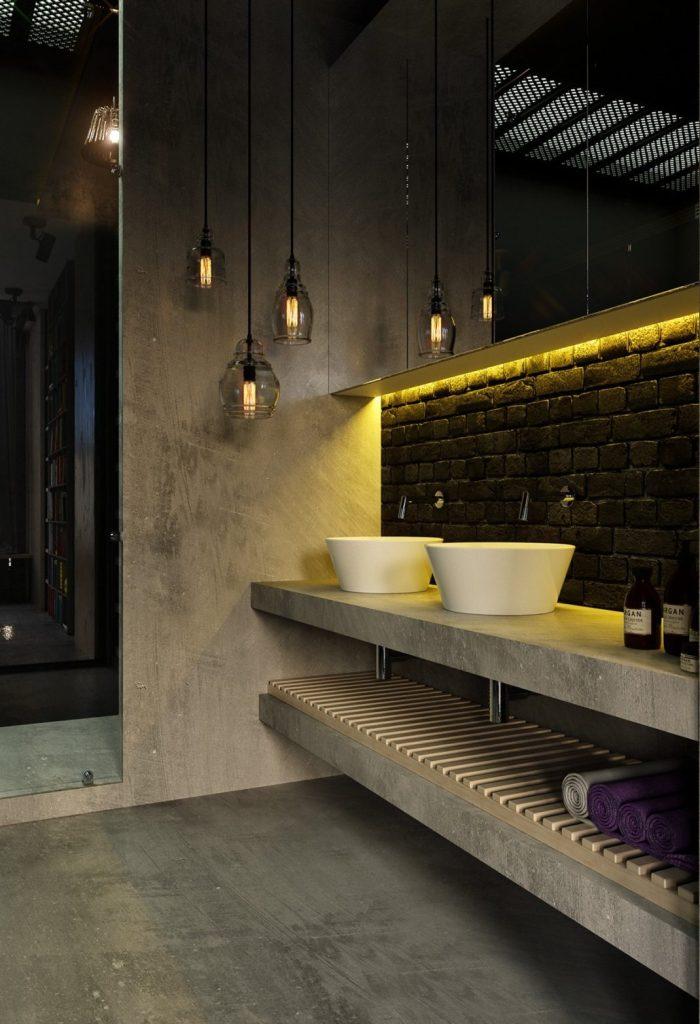 salles de bains de style industriel 33