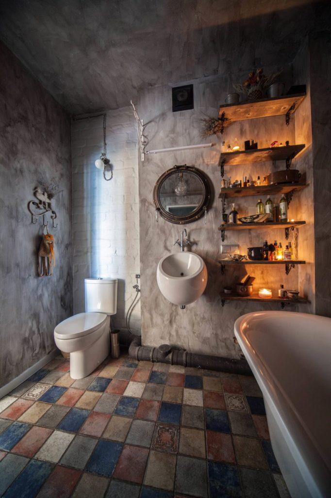 salles de bains de style industriel 38