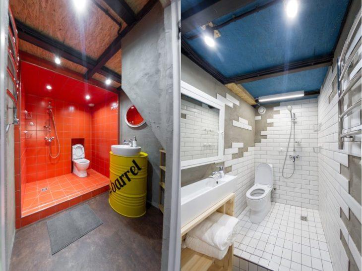 salles de bains de style industriel 45