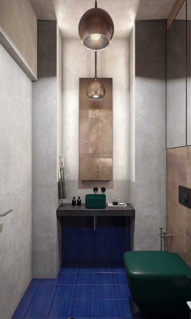 salles de bains de style industriel 46