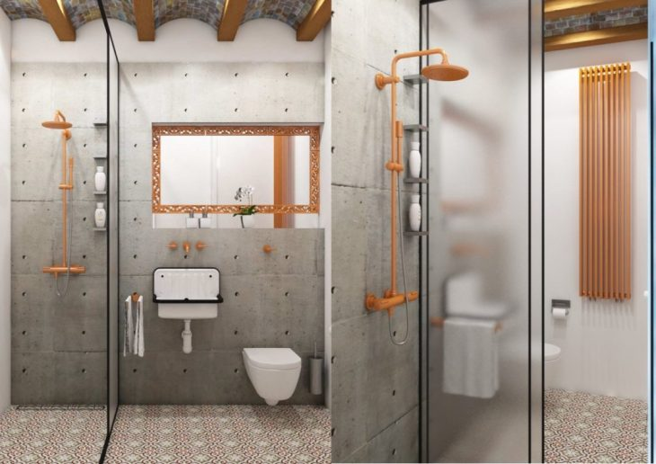 salles de bains de style industriel 8