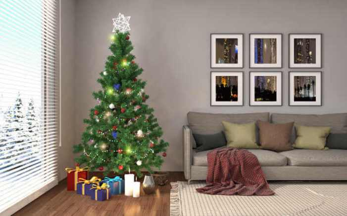 Un sapin de Noël élégant