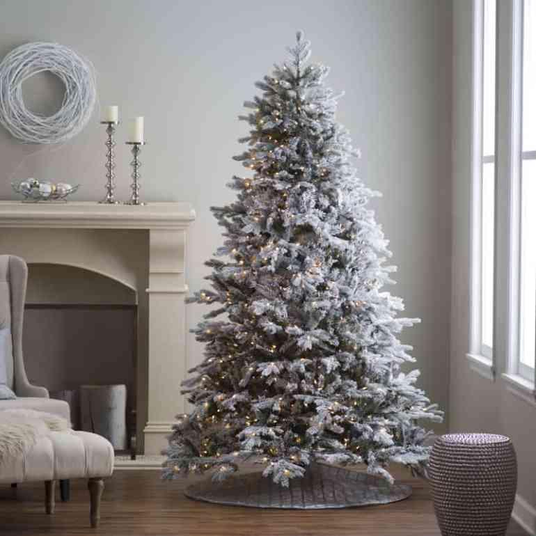 Décorations de sapins de Noëlenneigé