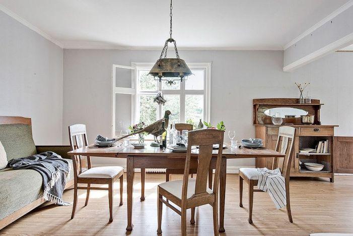 Décorer une salle à manger en blanc et la rendre lumineuse et tendance