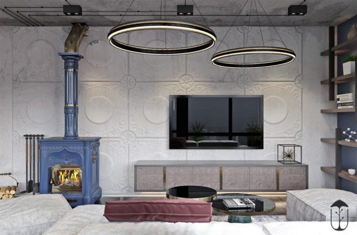 appartement mélangeant le style déco marocain et le minimalisme