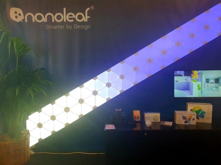 Maison et Objet Janvier 2019- Nanoleaf Light Panels