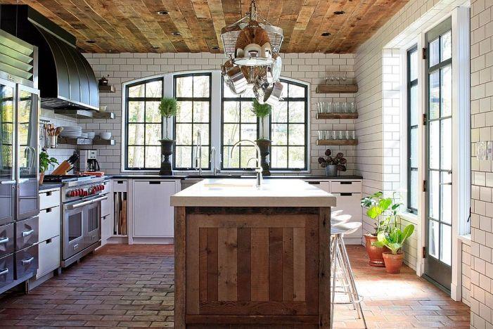 Tendances cuisine 2019 ambiance cottage moderne