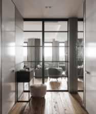 Visite d'un appartement au style glamour moderne sophistiqué 10