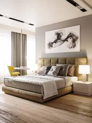 Visite d'un appartement au style glamour moderne sophistiqué 13