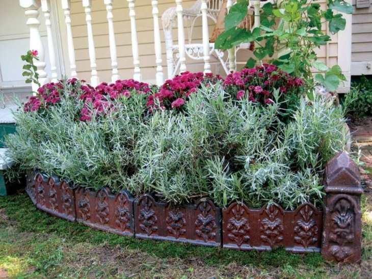 Décorer un jardin avec des antiquités pleines d'originalité