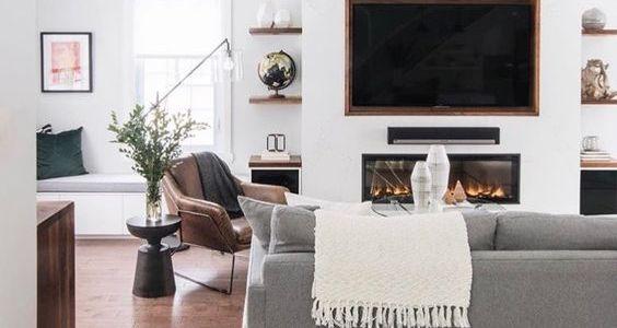 Décorer le mur de votre télévision grâce à 10 astuces déco 8