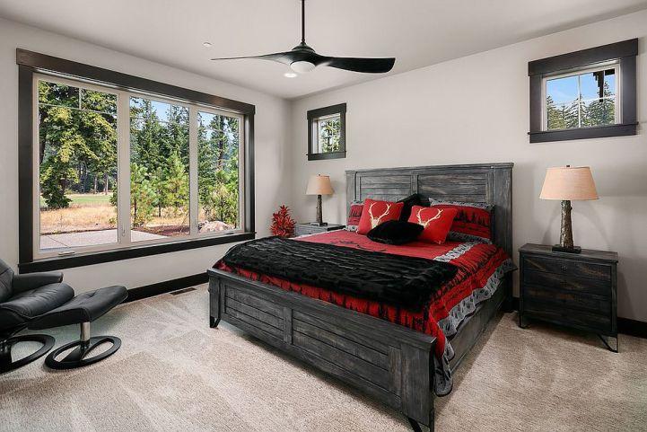 Des chambres rustiques avec une touche de couleur et des motifs 7