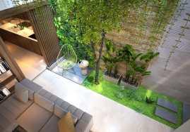 Un jardin d'intérieur dans sa maison 5