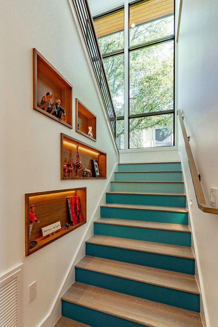 Comment utiliser l'espace sous l'escalier de votre maison 7