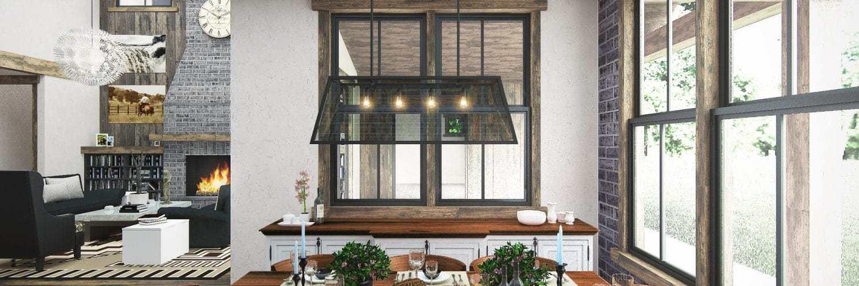 Créez votre décoration de salon cottage
