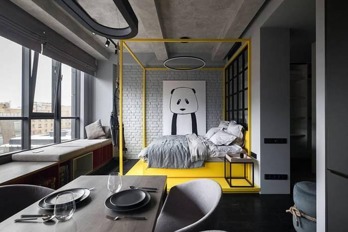 Découvrez l'incroyable décoration monochromatique de cet appartement
