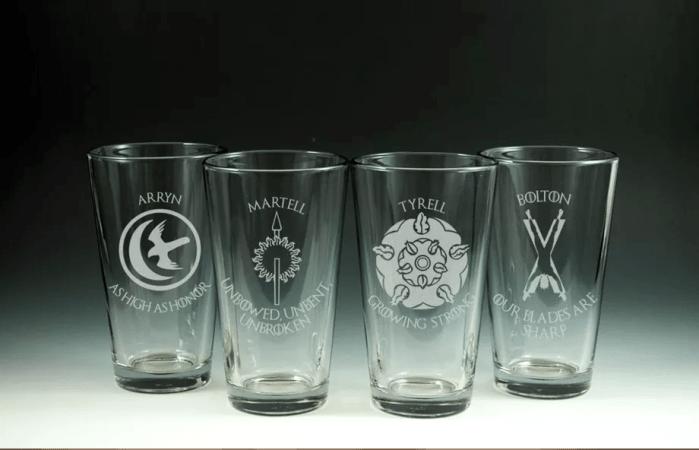 Les verres GOT – 62,95 dollars