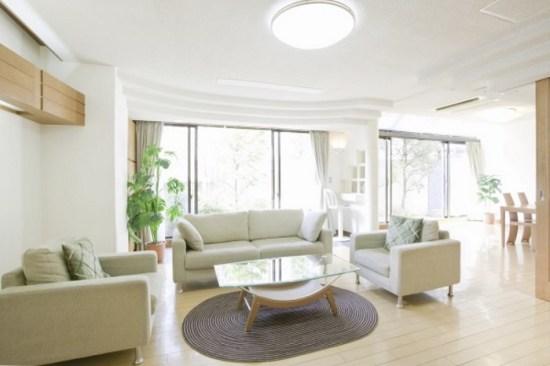 Plafonnier LED salon