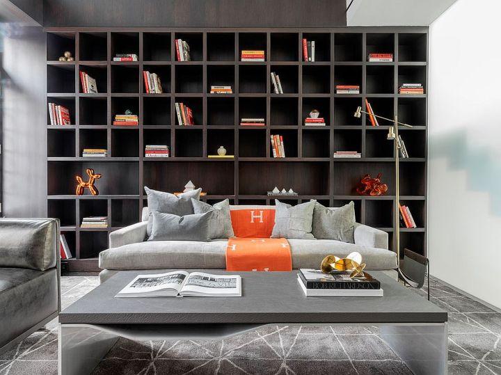 Des livres sur les murs