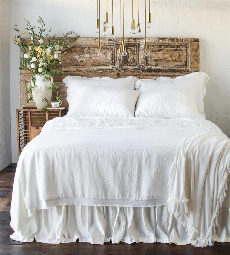 La literie et les draps de lit