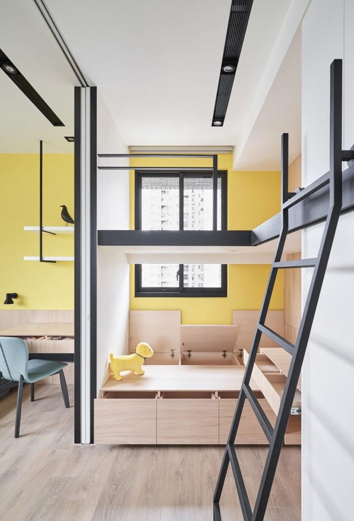 Solutions d'économie d'espace pour des petits intérieurs aérés 8