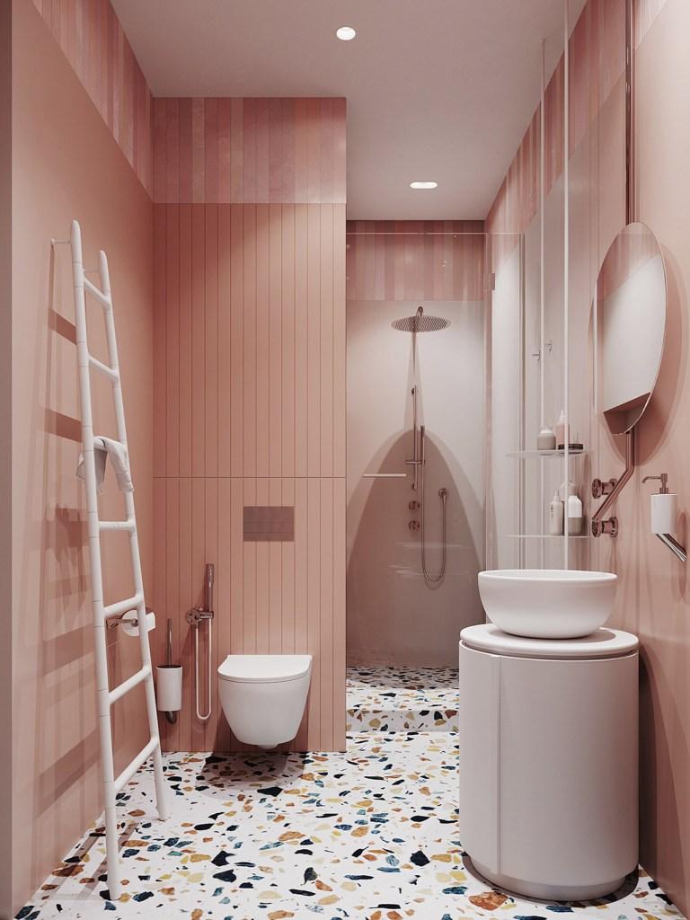 Un intérieur rétro moderne rempli d'idées de conception originales 10