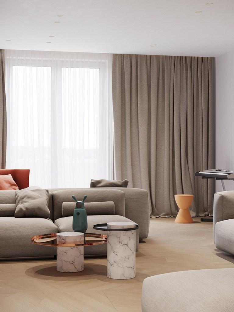 Un intérieur rétro moderne rempli d'idées de conception originales 2