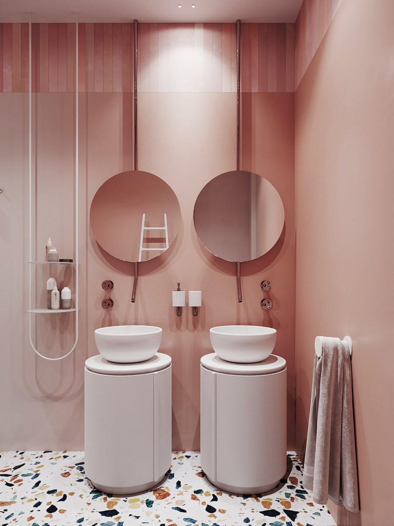Un intérieur rétro moderne rempli d'idées de conception originales 9