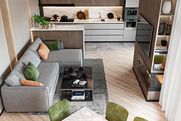 maison familiale moderne sophistiquée 2