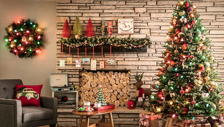 Les principales décorations de Noël Les guirlandes
