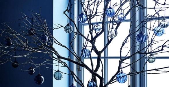 Couleurs de Noël 2020 le bleu navy ou bleu marine