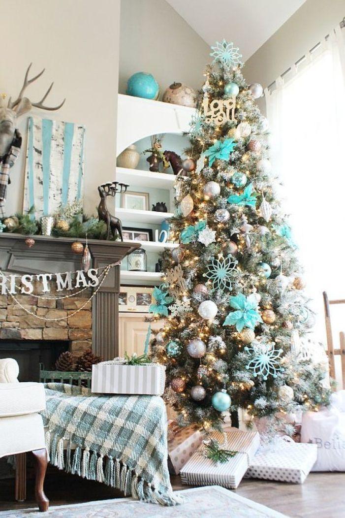 couleurs de Noël 2020 turquoise