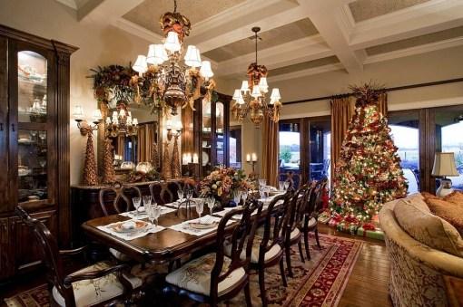 21 idées pour décorer votre salle à manger à Noël avec une touche festive 1