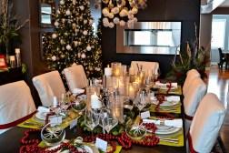 21 idées pour décorer votre salle à manger à Noël avec une touche festive 2