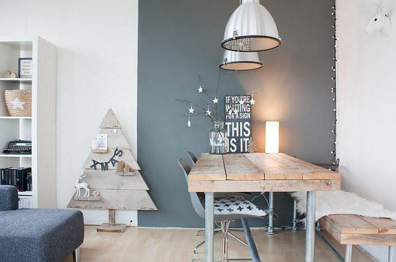 Décorer votre salle à manger à Noël de façon gai et moderne 2
