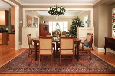 Décorer votre salle à manger à Noël de façon gai et moderne 4