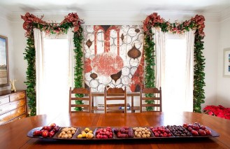 Décorer votre salle à manger à Noël de façon gai et moderne