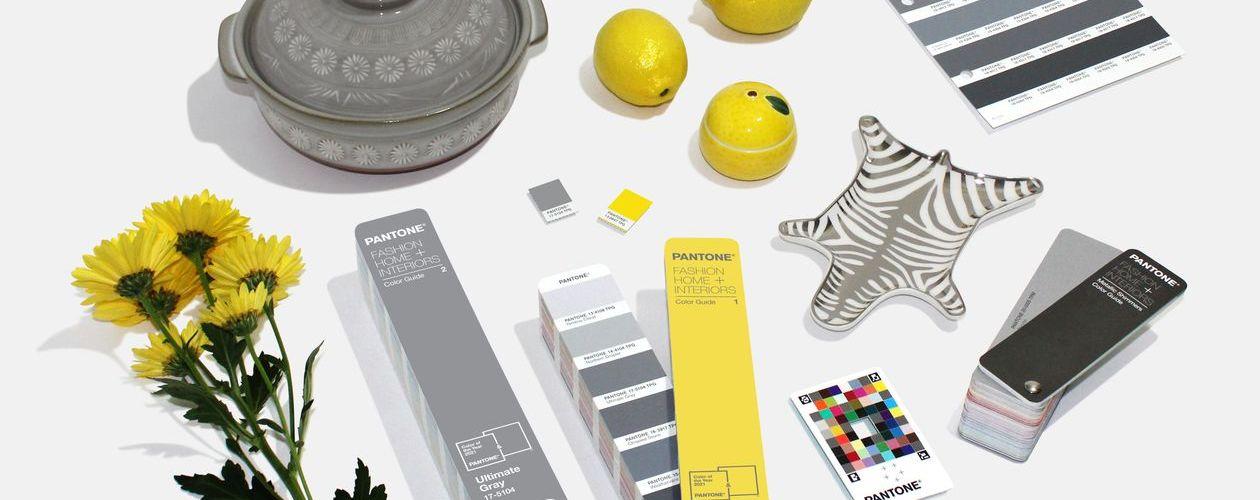 Ultimate Gray + Illuminating - Décorer avec les couleurs de l'année de Pantone