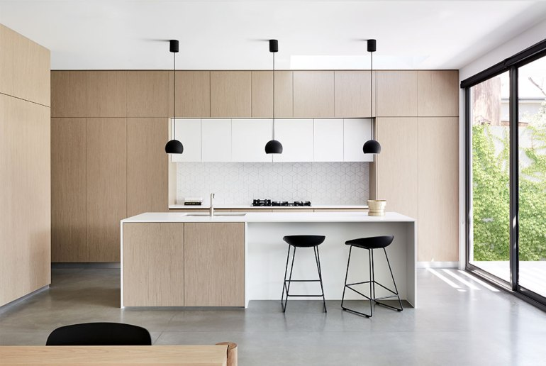 Les meubles et objets dans les cuisines minimalistes 1
