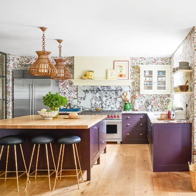 Tendances de la cuisine pour 2021le papier peint