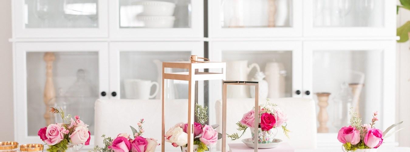 De belles idées de décorations florales pour l'été