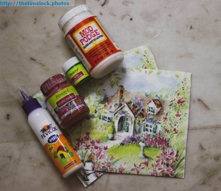 decoupage starter kit